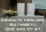 Sultanbeyli Sandalye kiralama