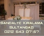 Sultangazi sandalye kiralama